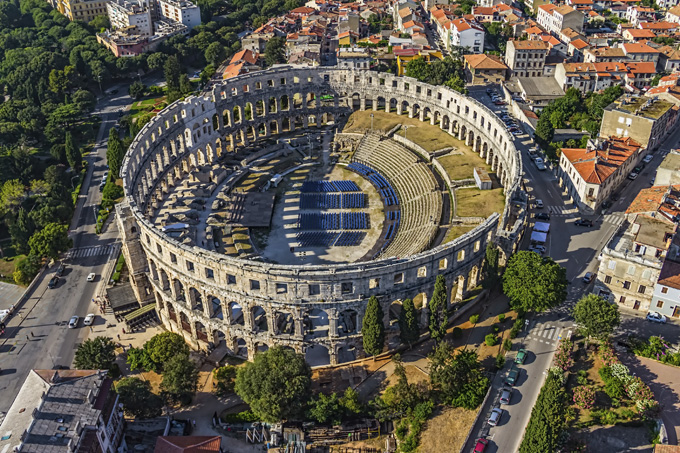 Idées voyage : les 15 destinations à visiter en 2019 - Pula
