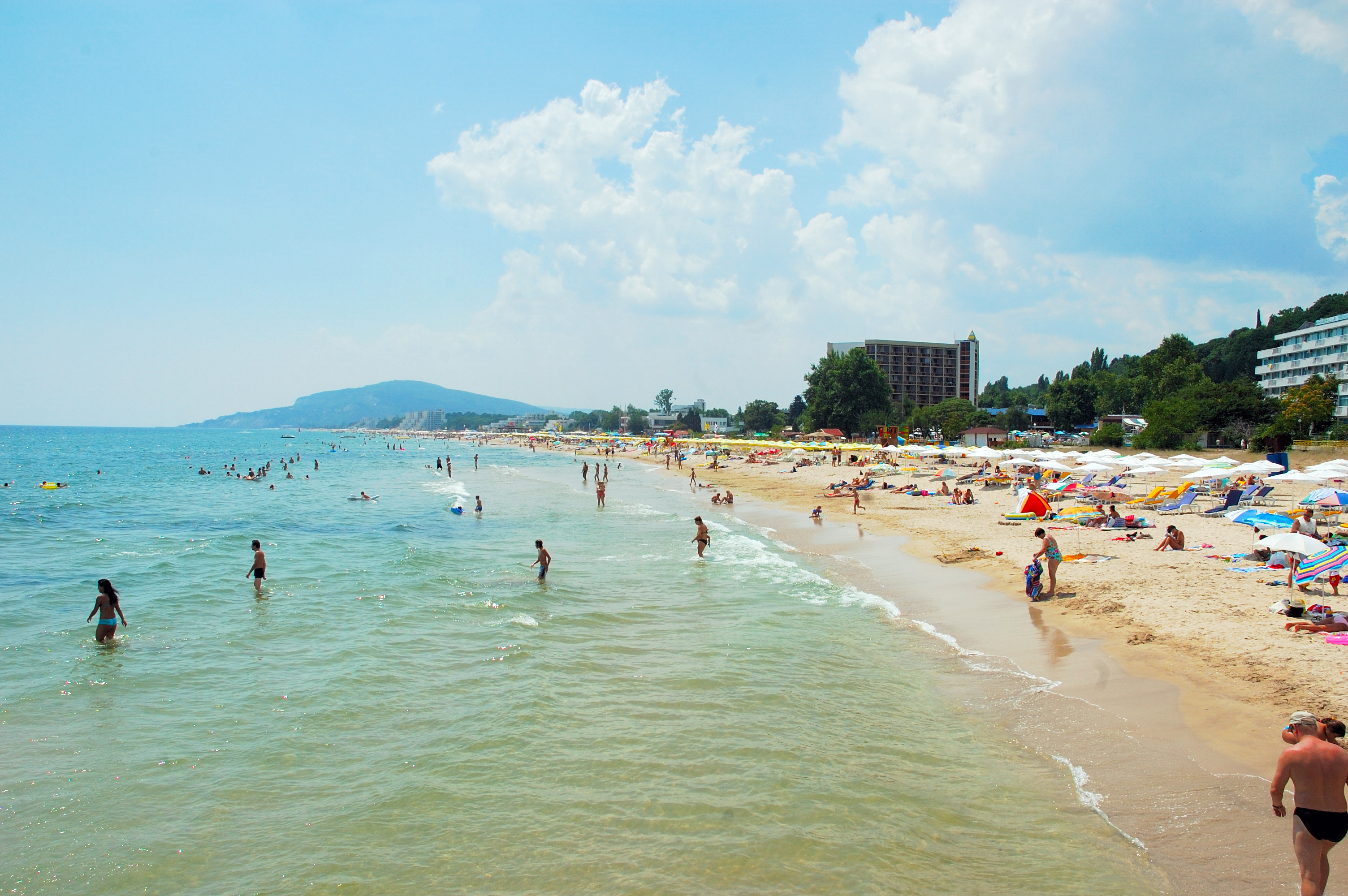 Beaches in Burgas, Bulgaria are a favourite for a cheap last-minute summer holiday from Ireland
