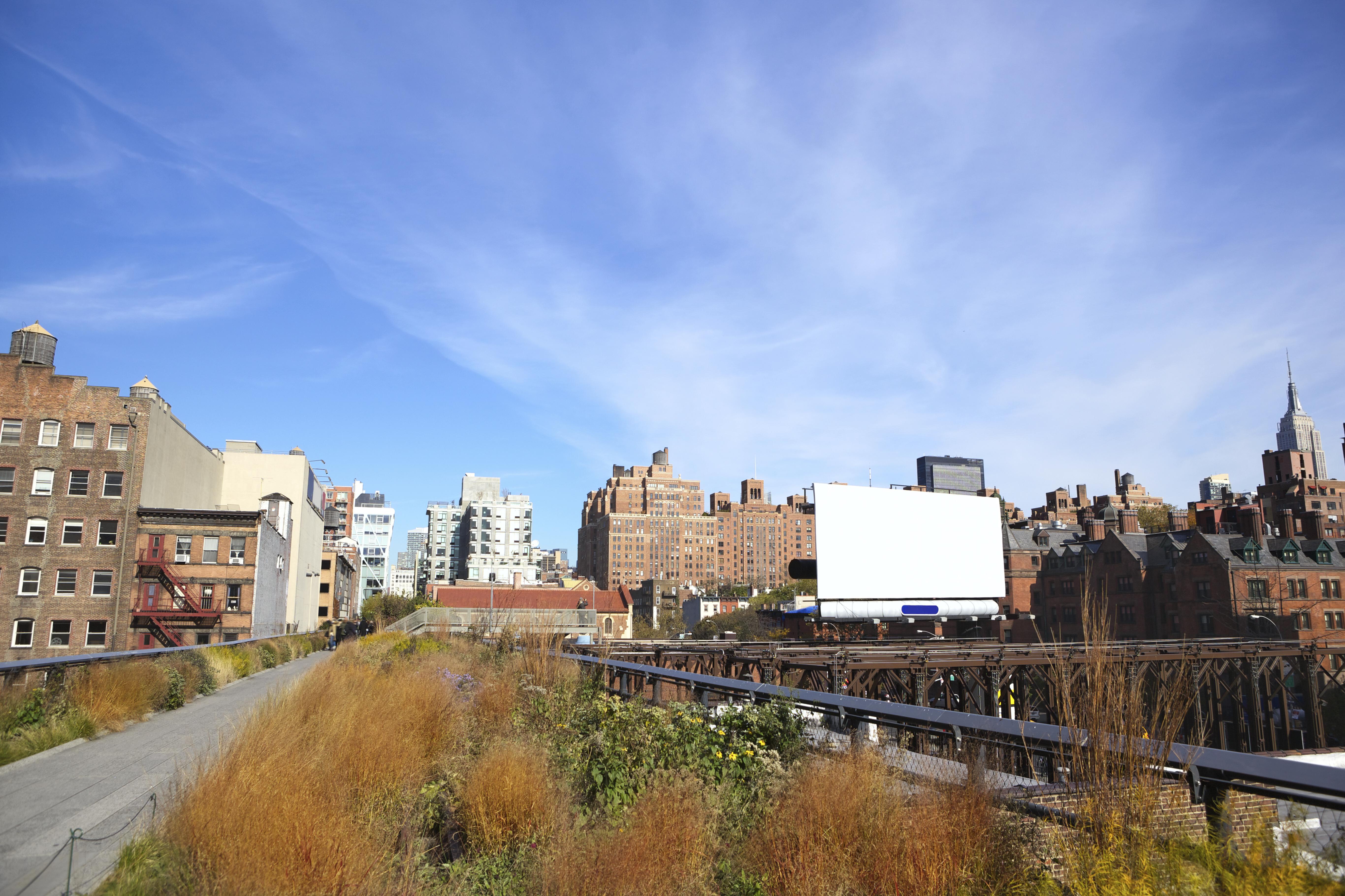 Geheimtipps für New York: Spaziergang in luftiger Höhe