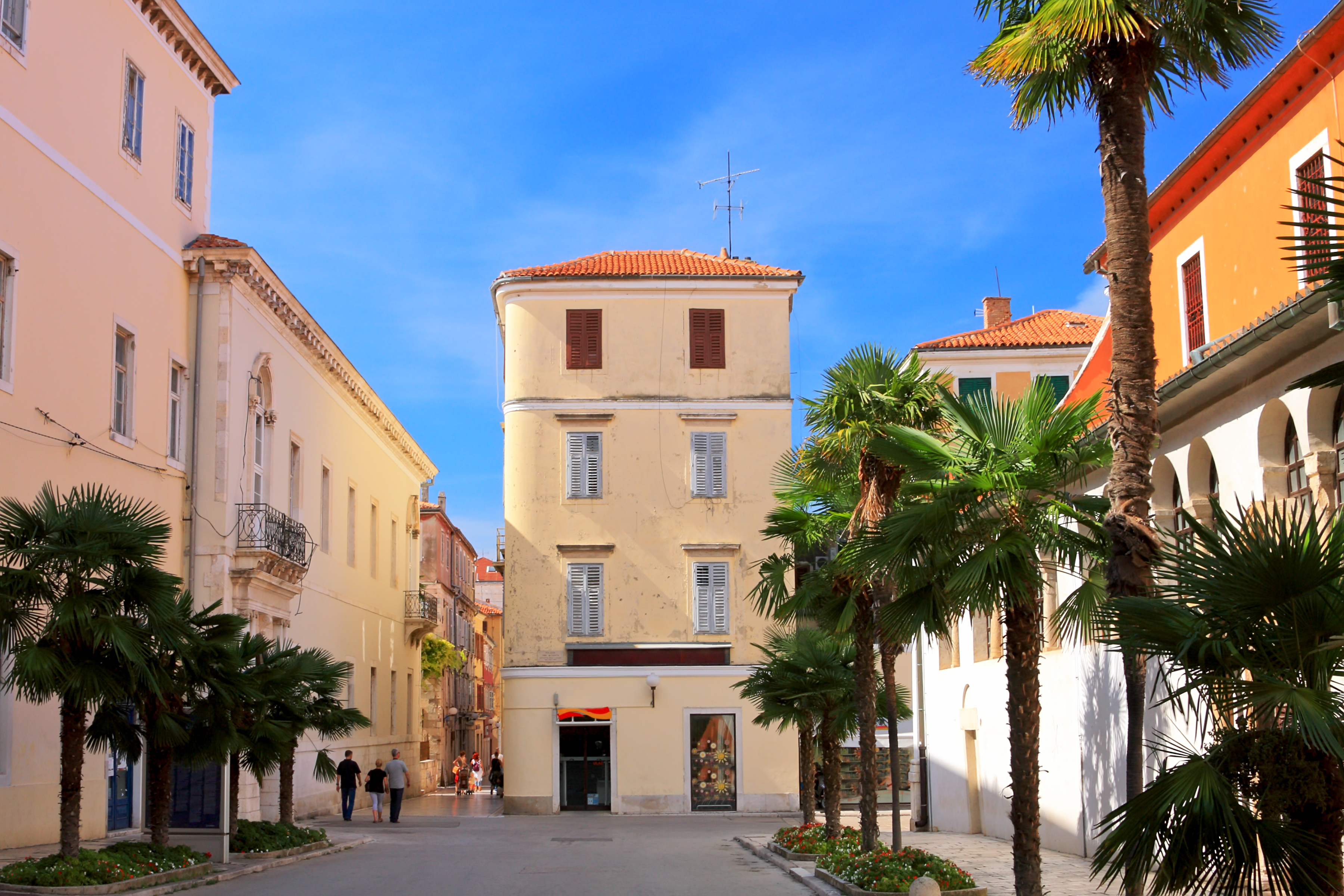 Zadar, Croatia is a great low-cost destination for last-minute summer holidays