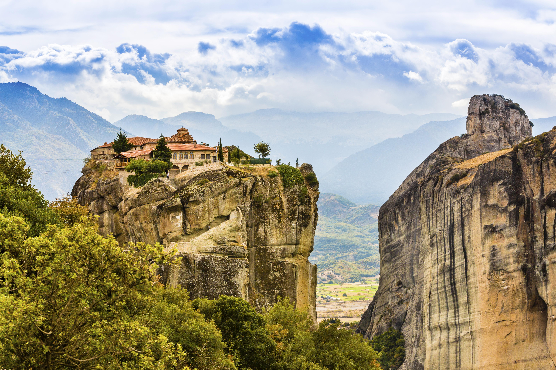 Las mejores rutas en coche por Grecia: Meteora