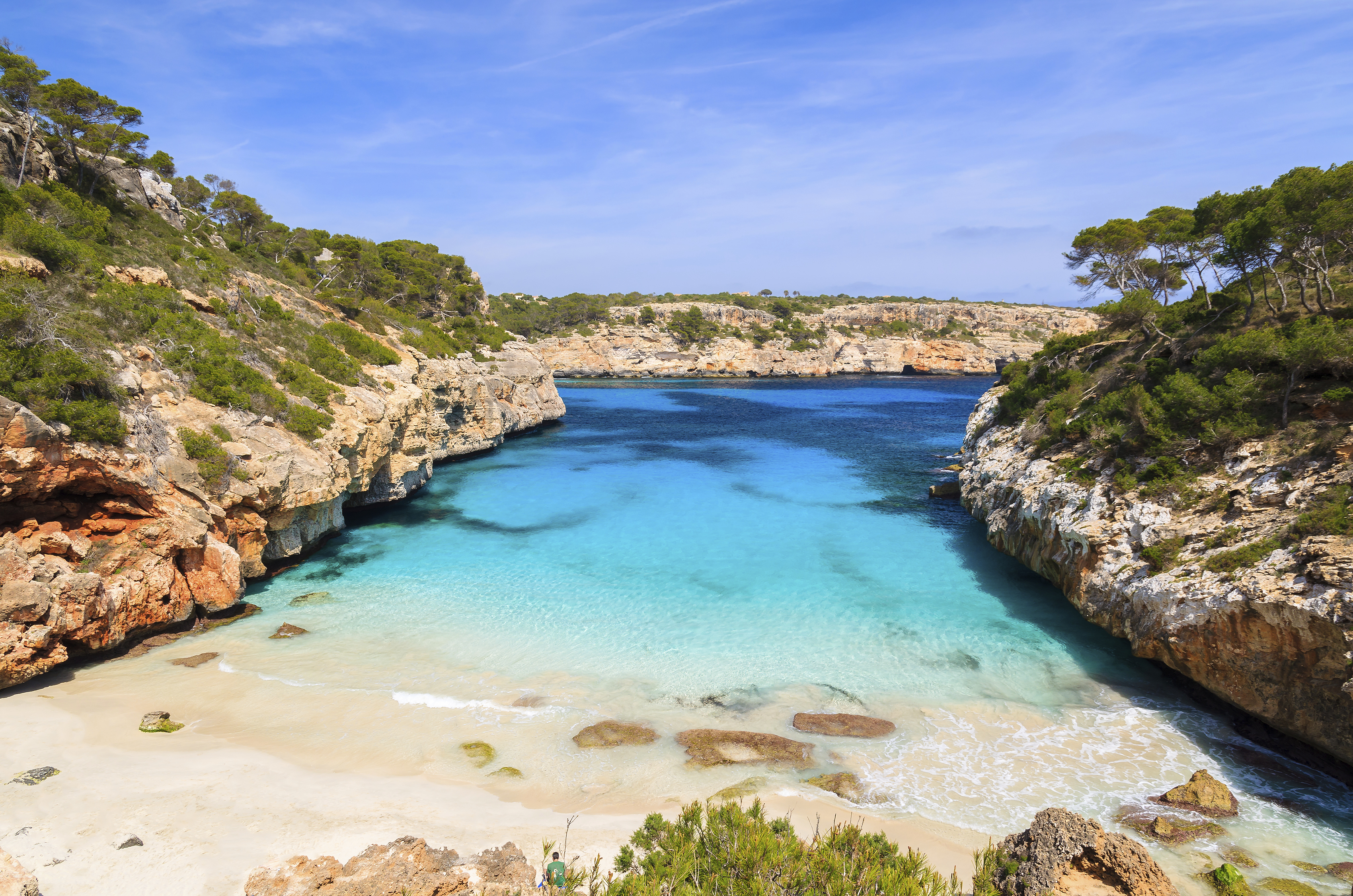 Mapa Calas De Mallorca.Las 10 Playas Mas Cristalinas De Mallorca Skyscanner Espana
