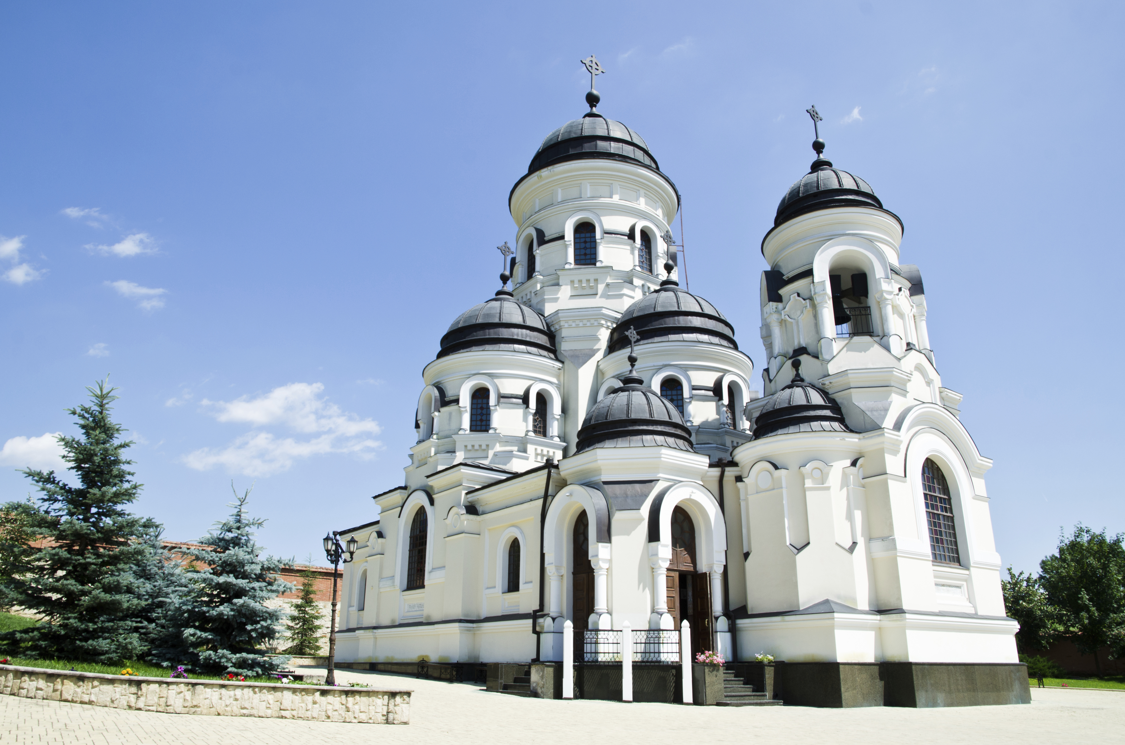Church in Chisinau, Moldavia - a great destination for a last minute holiday from Ireland