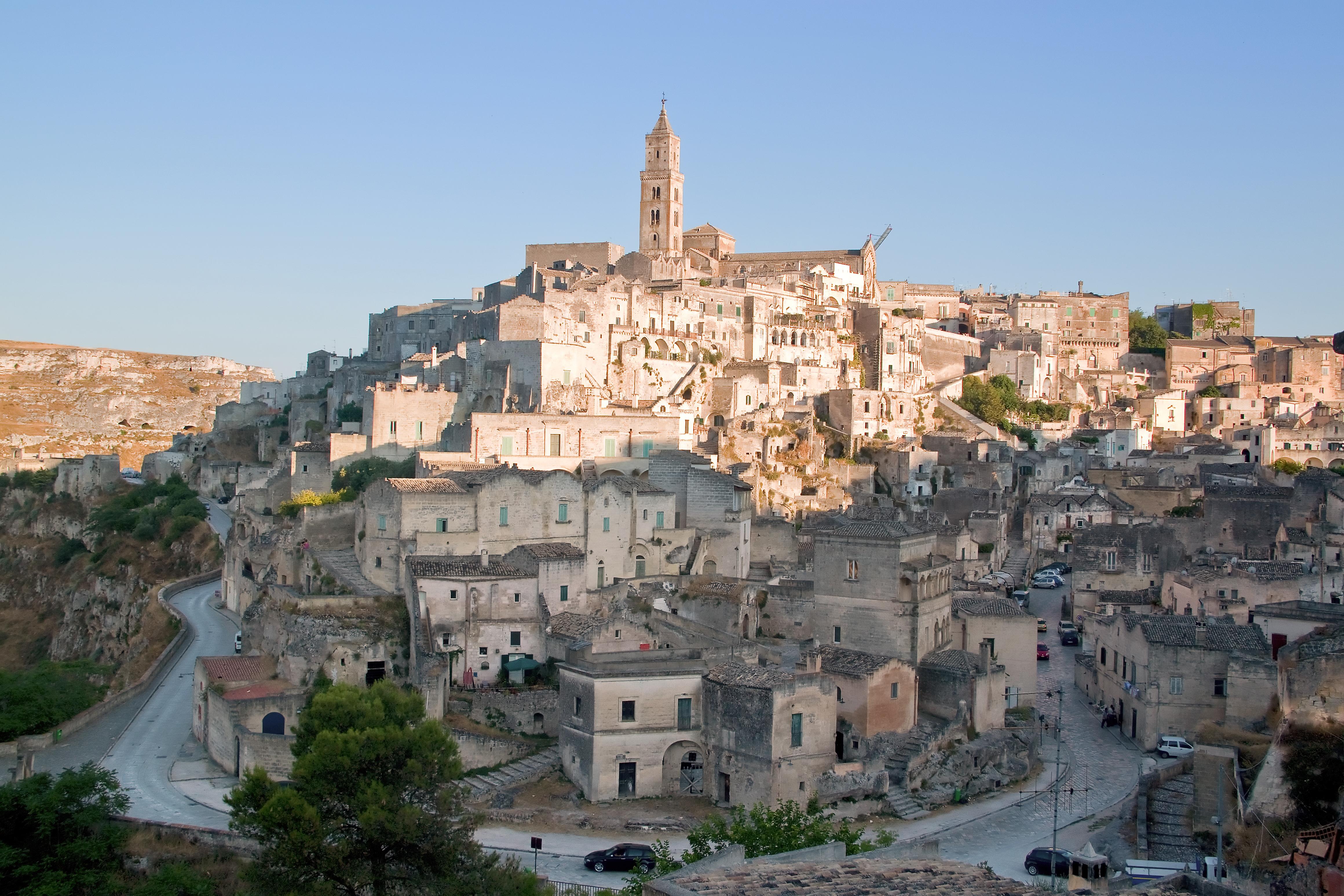 Unentdeckte Städte in Italien: Matera