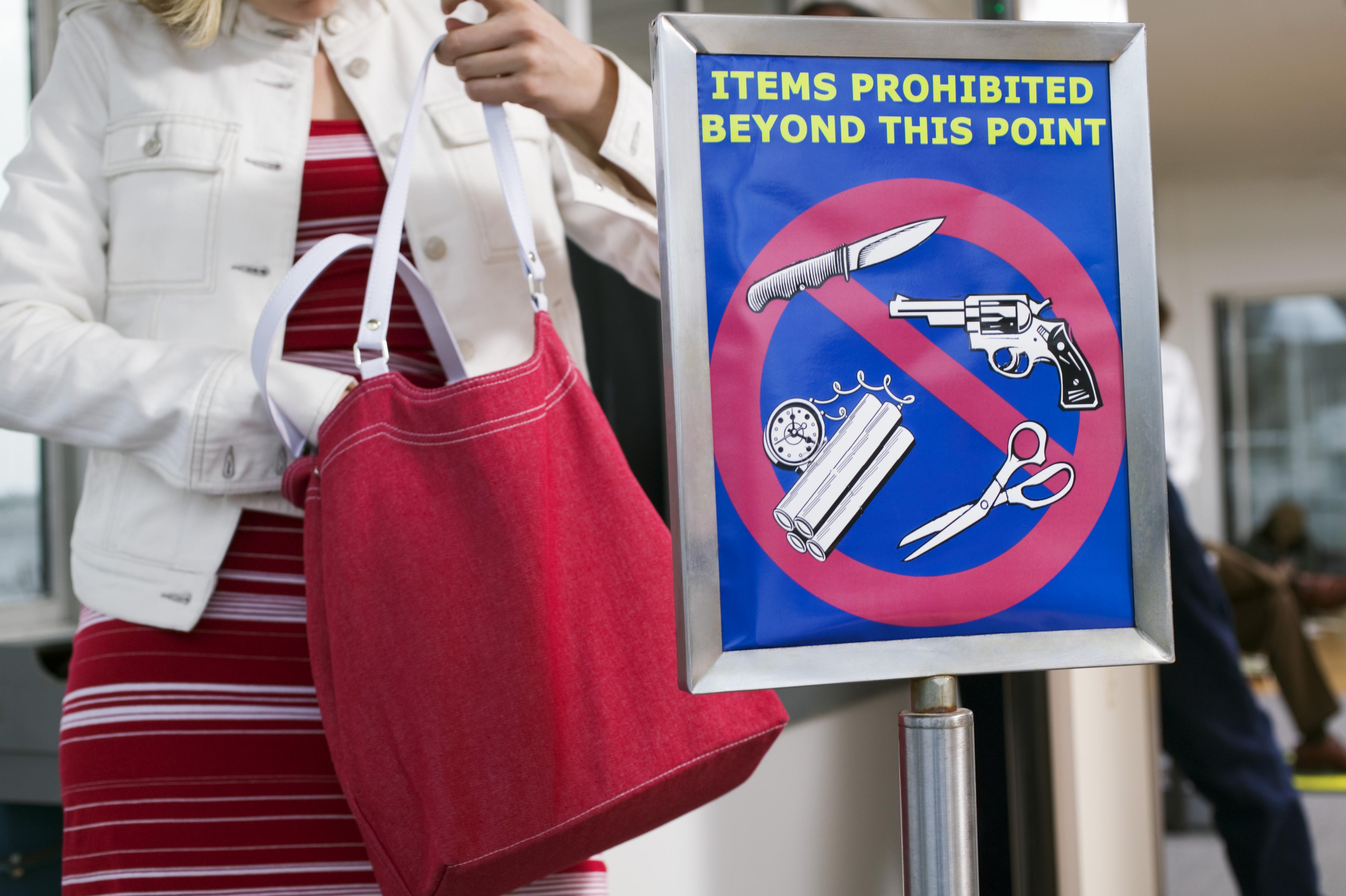 vad är tillåtet i handbagage