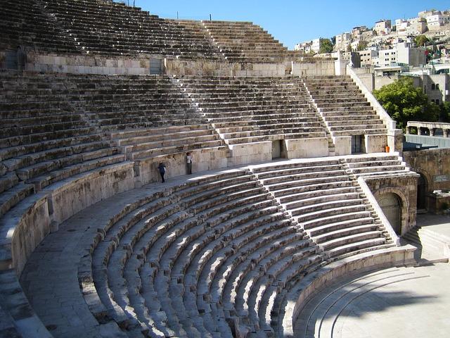 To αρχαίο Ρωμαϊκό Θέατρο του Αμμάν
