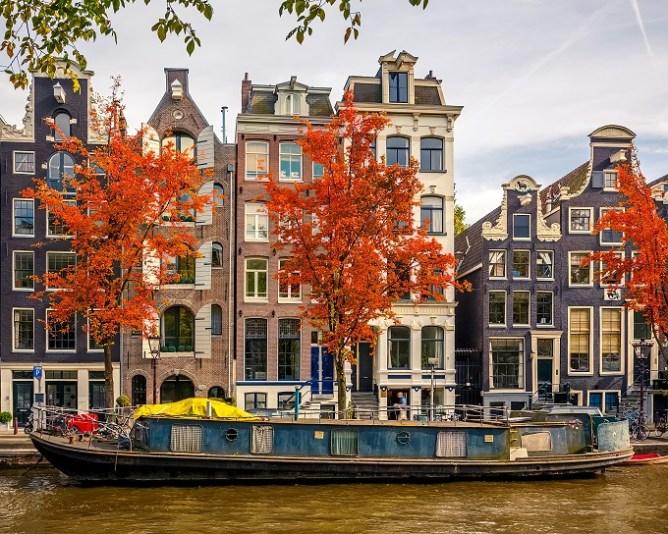 Ámsterdam en otoño