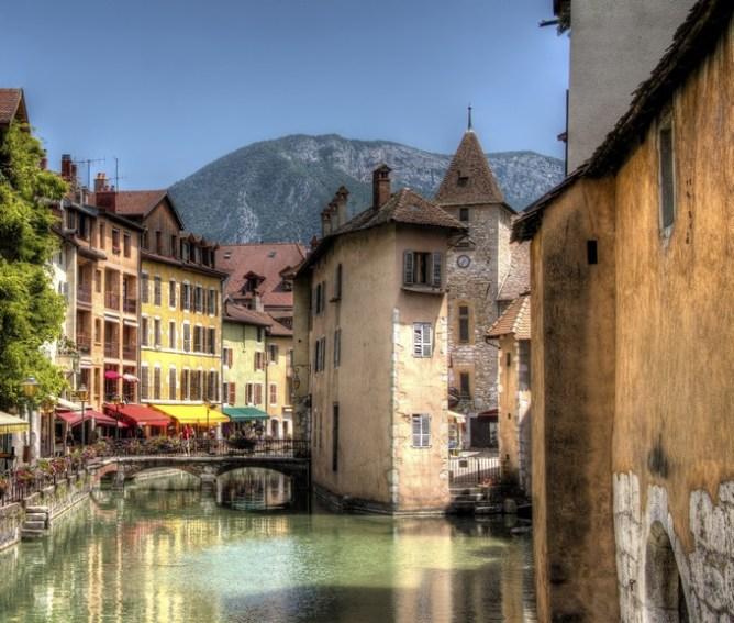 10 destinations où partir en week-end en amoureux - Annecy, France