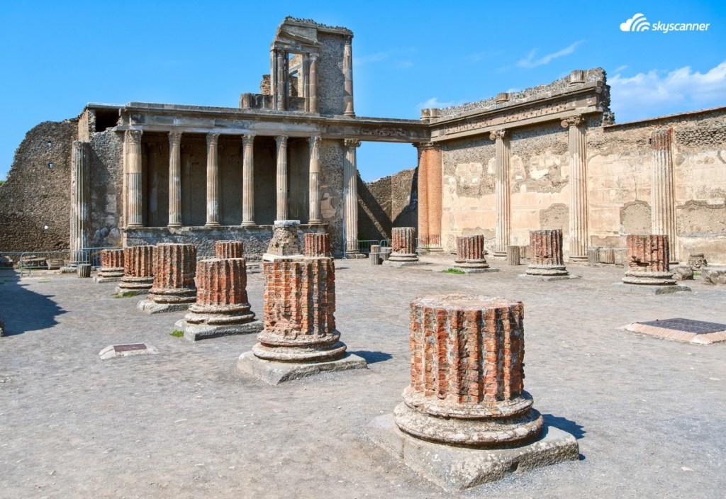 Η αρχαία πολιτεία της Πομπηίας, μια ημερήσια εκδρομή από τη Νάπολη