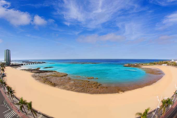 Beach in Lanzarote, Canary Islands