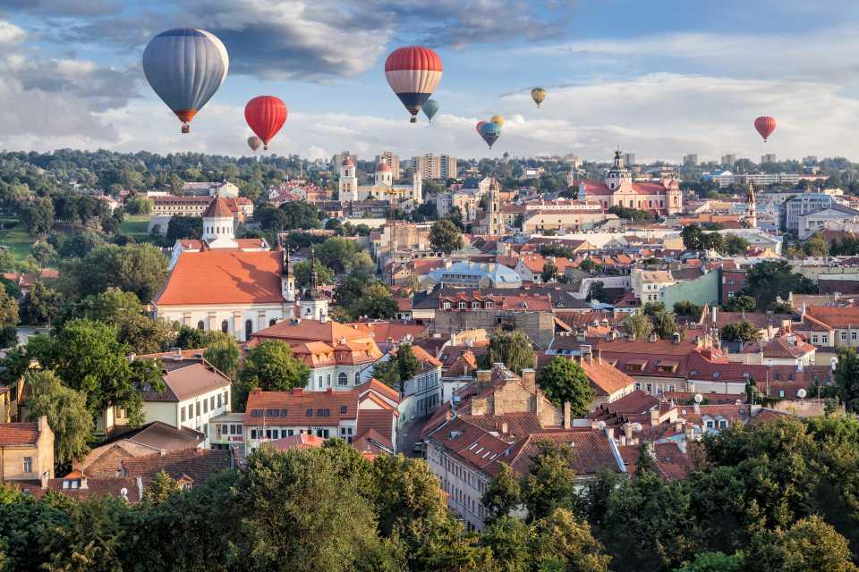 リトアニアの気球
