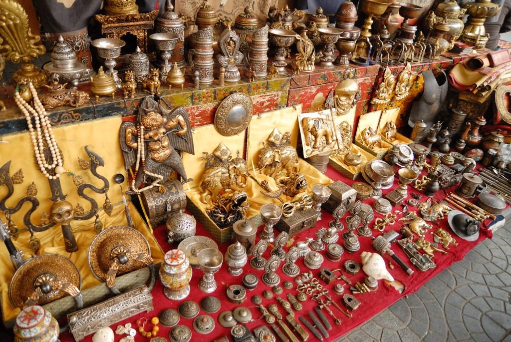 Где в Пекине купить интересные сувениры? На блошином рынке