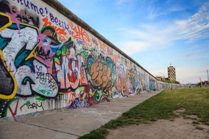 Berliini-nähtävyydet: Berliinin muuri