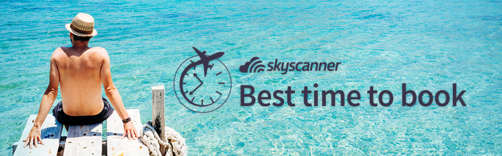 when is the best time to book a flight in 2019 skyscanner