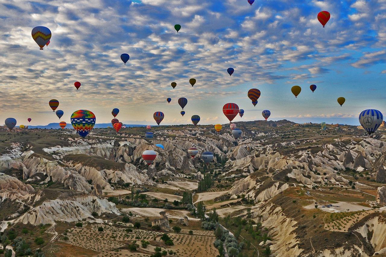 sonbaharda gidilecek yerler Kapadokya