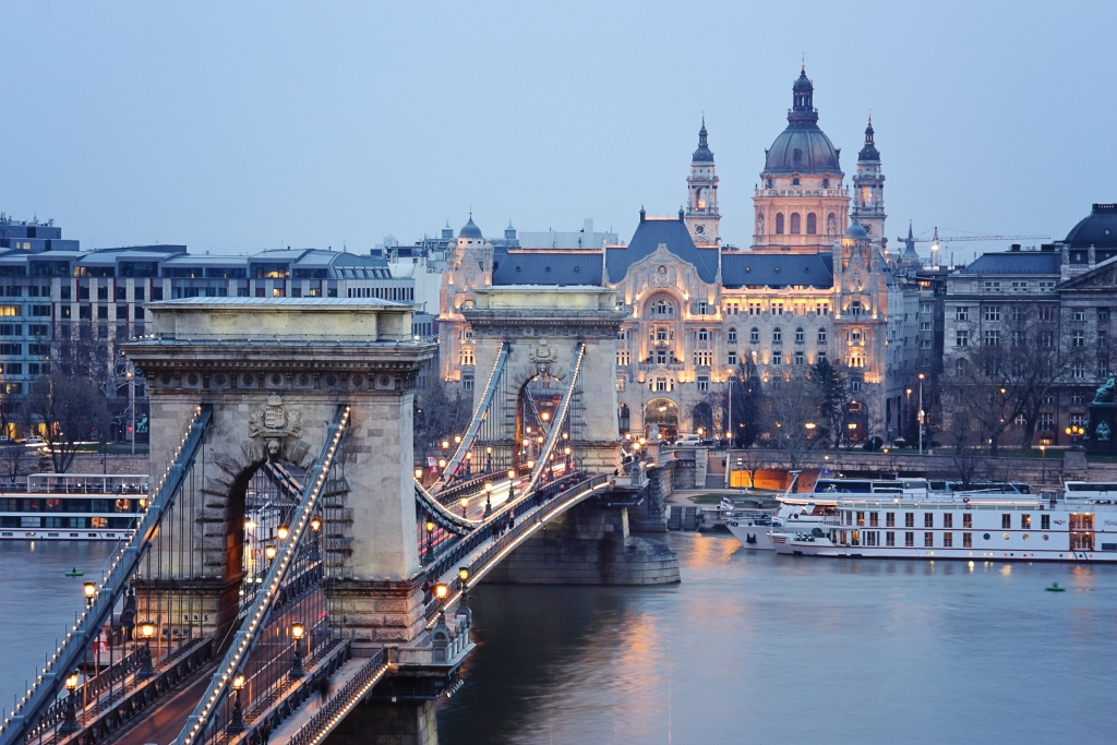Chain bridge in Budapest, a top Summer European Vacation destination. Budget in Budapest | Skyscanner Canada