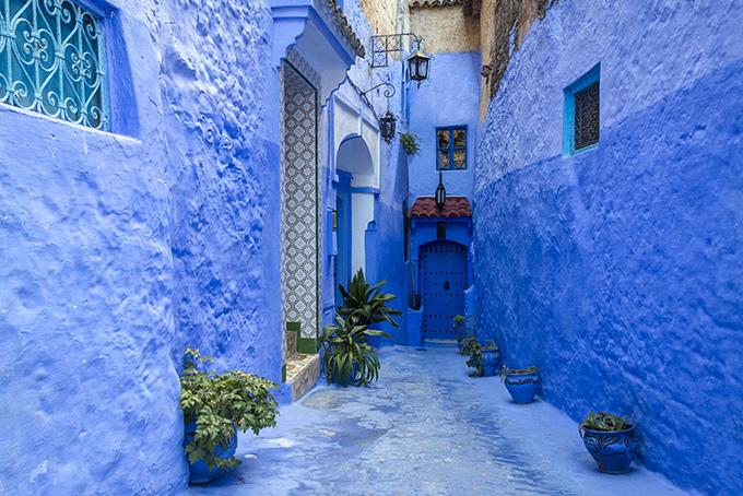 Η Chefchaouen είναι μια πόλη σε μπλε αποχρώσεις - ταξίδι στο Μαρόκο