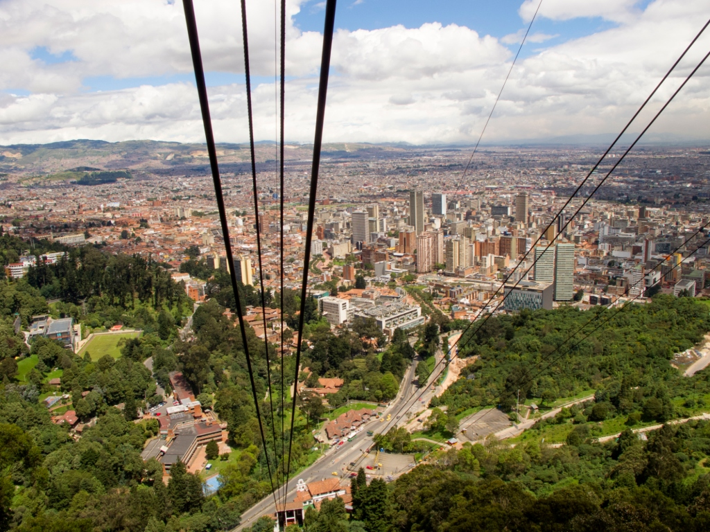Lentodiilit Etelä-Amerikkaan: Bogota