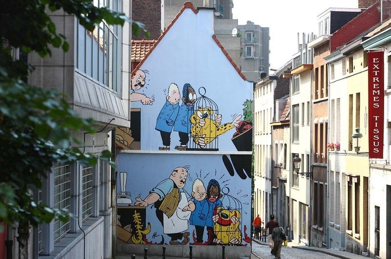 Ulice Brukseli