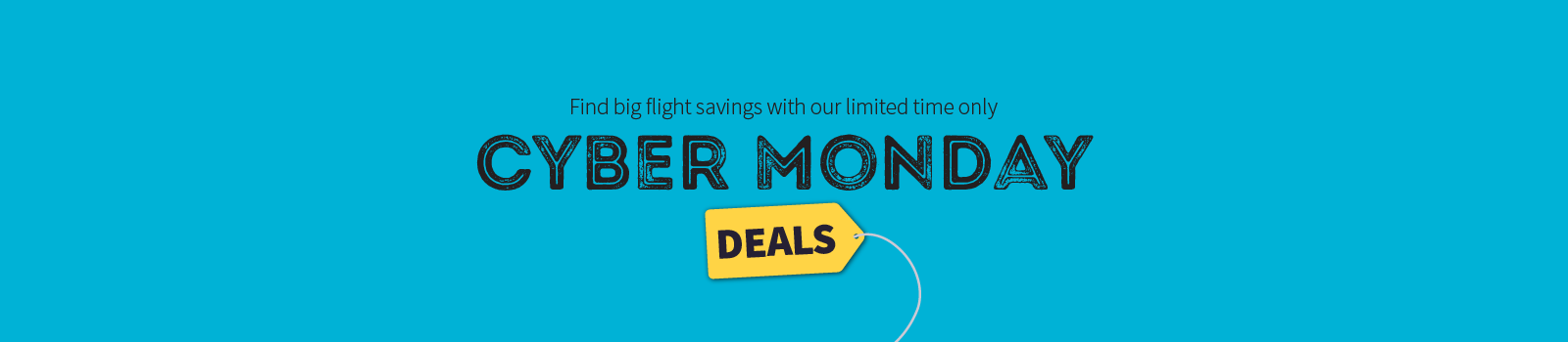 Cyber Monday Flight Deals Are Being Announced