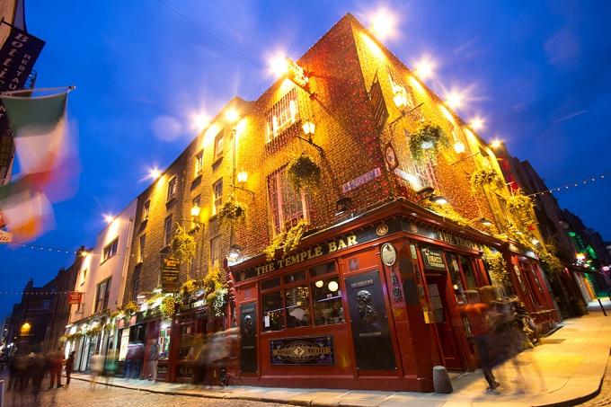 The Temple Bar. Dublin