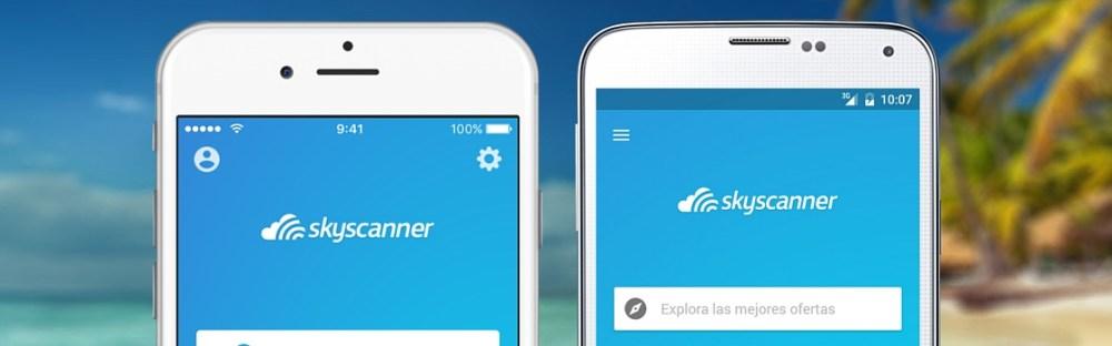 Las 25 Mejores Apps De Viajes Skyscanner Espana