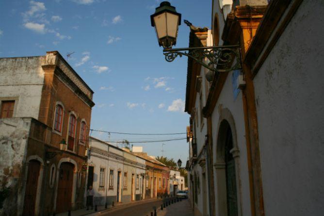Street in the Old City of Faro, Algarve