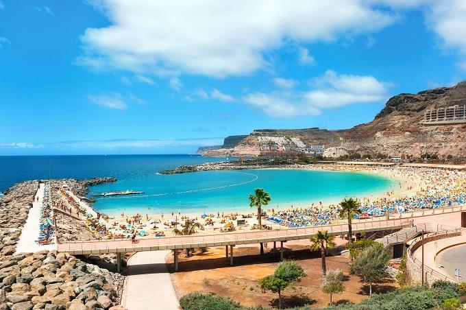 Det är inte konstigt att Gran Canaria är ett populärt resmål i norden. Här är klimatet behagligt året runt.