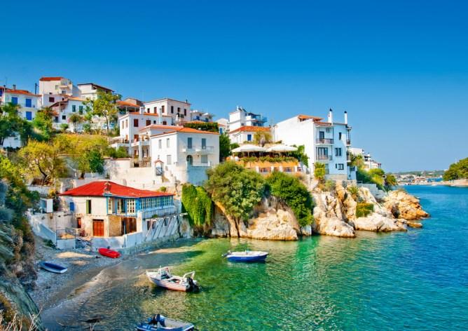 Welche griechischen Inseln kann man direkt anfliegen? Skiathos