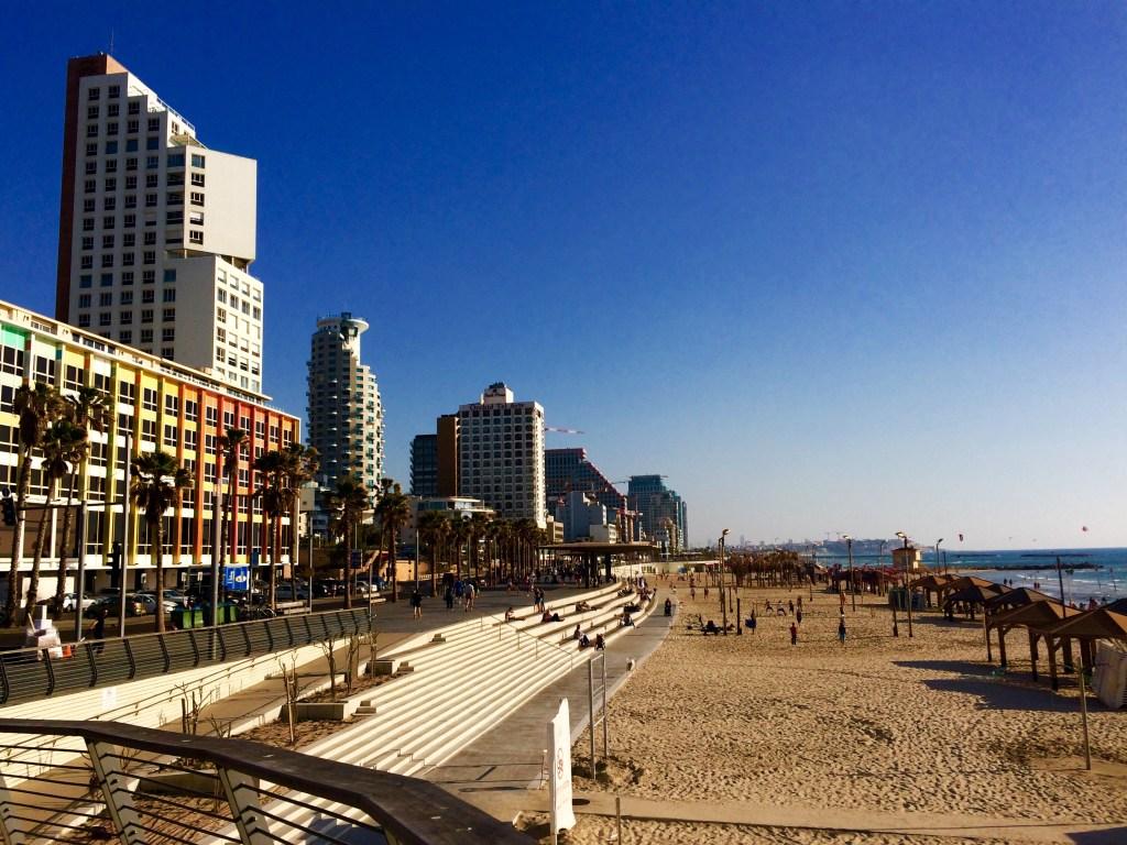 Μία απ' τις παραλίες του Τελ Αβίβ