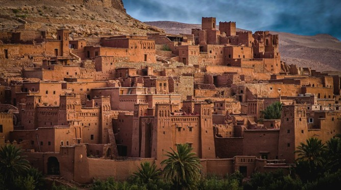 The ksar of Aït-Ben-Haddou in Morocco's desert
