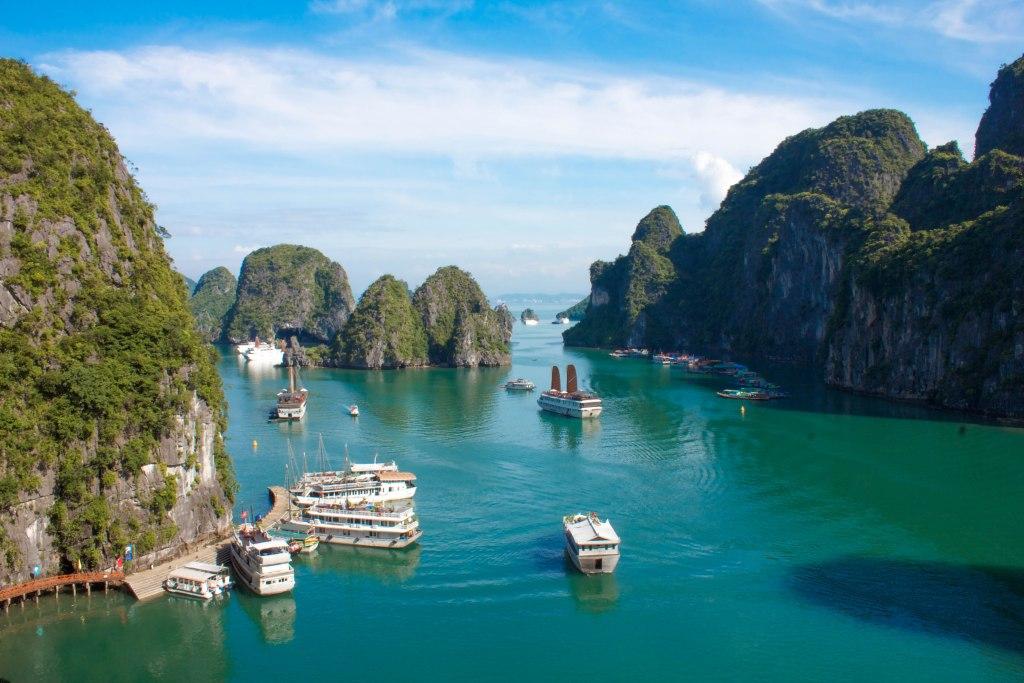 Matka Vietnamiin: Halong Bay