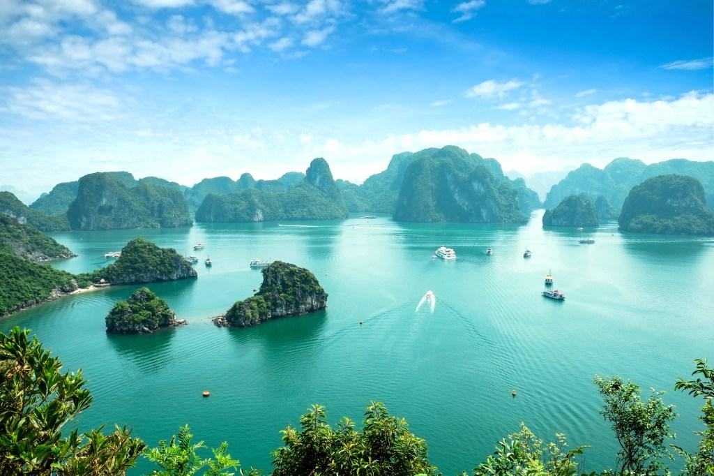 Beste Reisezeit für Nordvietnam: Ha Long Bay, Vietnam