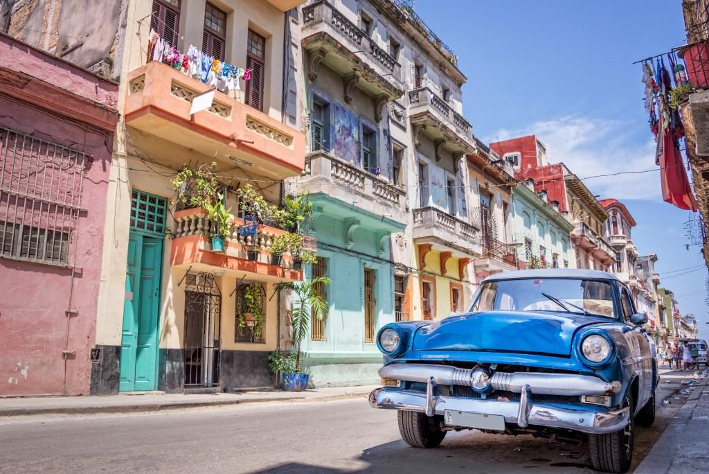 Lentodiilit Etelä-Amerikkaan: Havanna