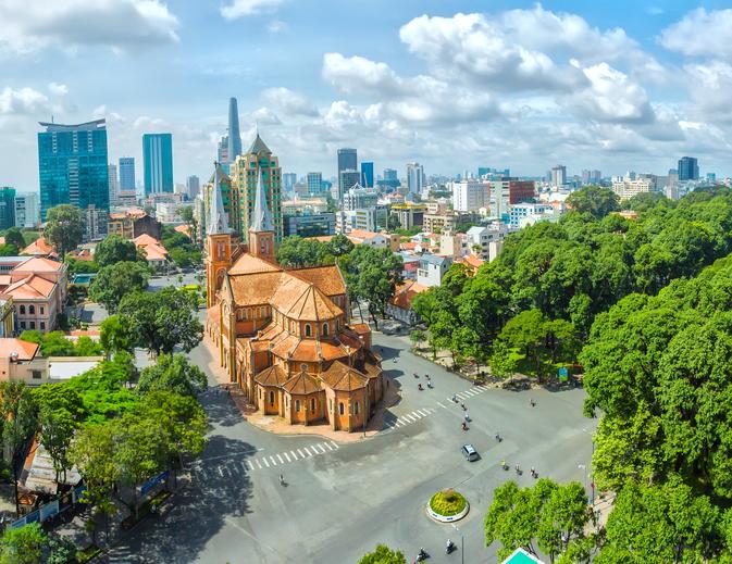 Beste Reisezeit für Südvietnam: Ho Chi Minh City, Vietnam