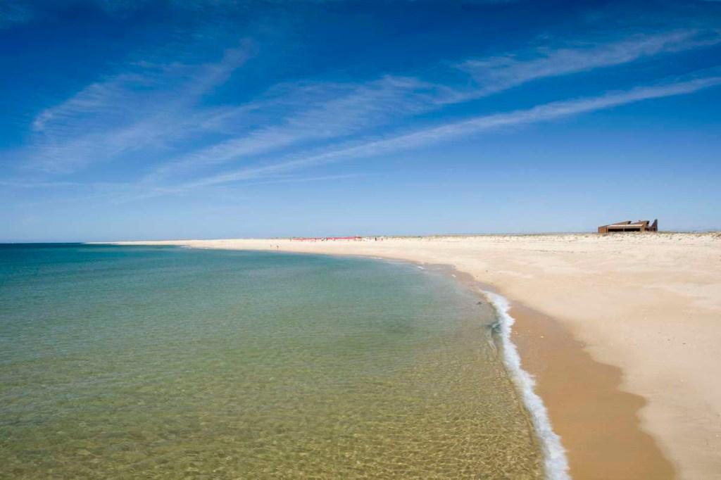 Une des plus belles plages de l'Algarve : Ilha Deserta