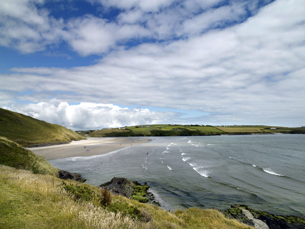 Inchydoney Beach is one of the most beautiful beaches in Cork