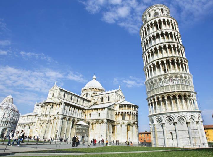 Die schönsten Städte in Italien: Pisa