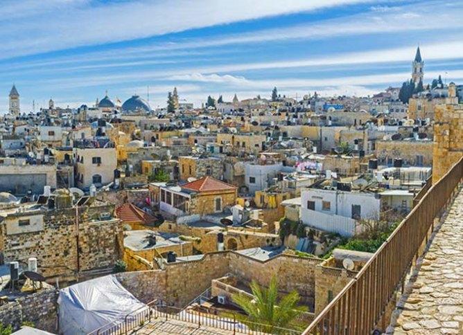 Πανοραμική άποψη της Ιερουσαλήμ, Ισραήλ