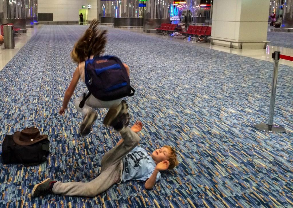 tips lange vlucht met kinderen