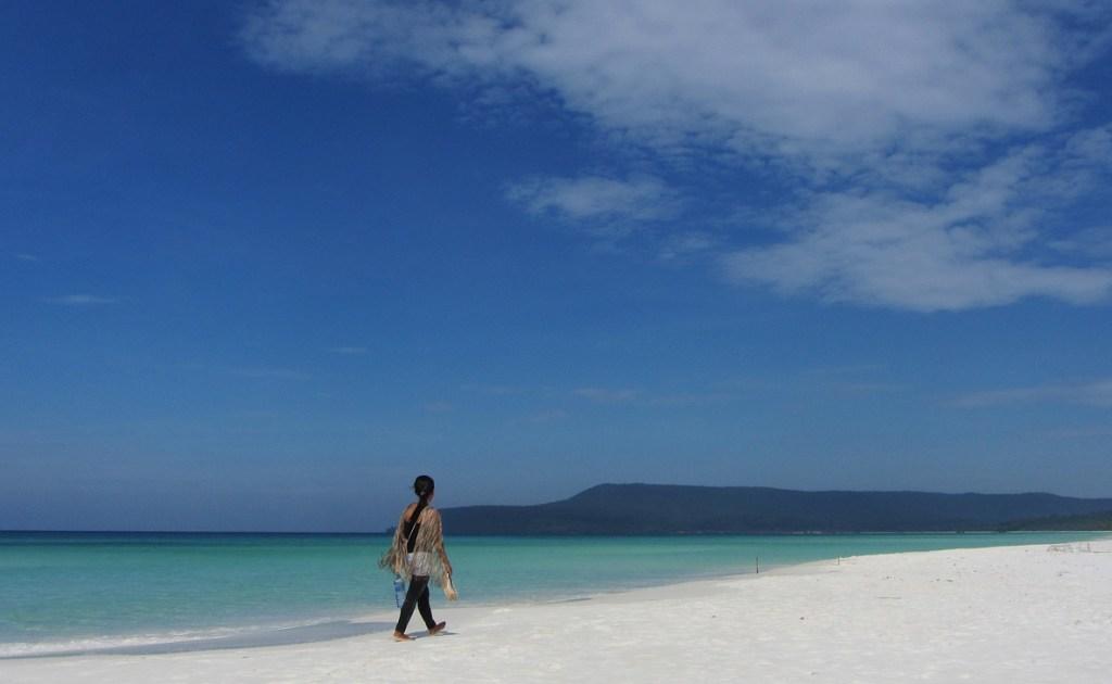 В Камбодже еще сохранились дикие пляжи