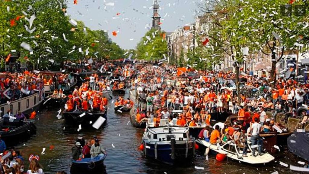 Rozpocznij długi weekend majowy Dniem Króla w Holandii!