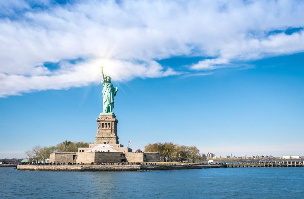 New York, quartiere di Manhattan: Statua libertà
