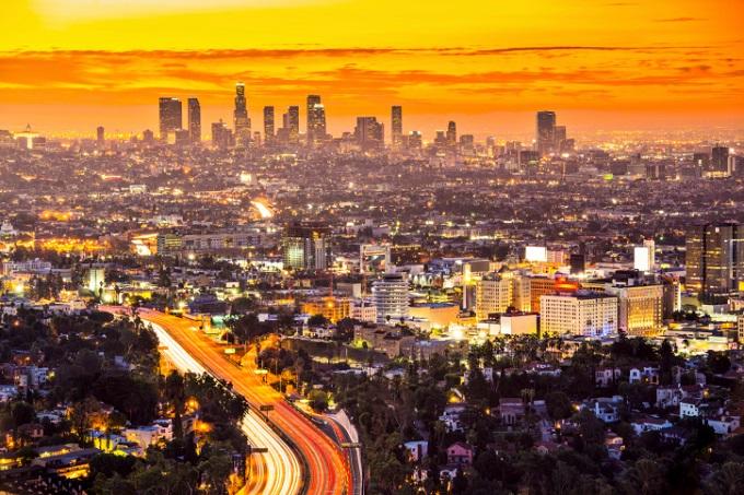 Entdeckt die Downtown von Los Angeles