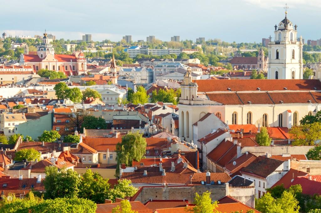ciudades de Europa que visitar: Vilna, Lituania