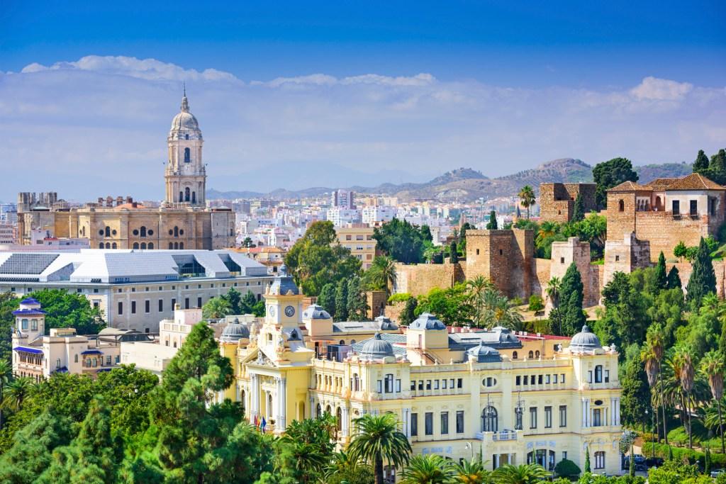 Lentodiilit Eurooppaan: Malaga