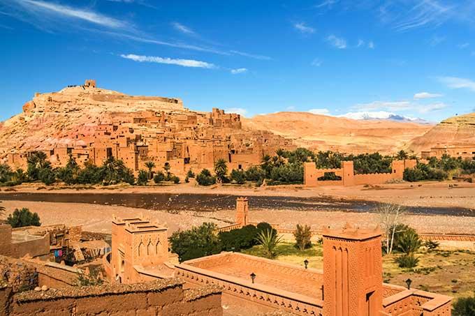 Το κσαρ του Ait-Ben-Haddou είναι απ' τα κορυφαία αξιοθέατα ενός ταξιδιού στο Μαρόκο