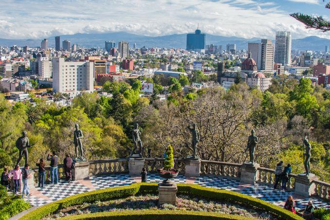 Lentodiilit Etelä-Amerikkaan: Mexico City