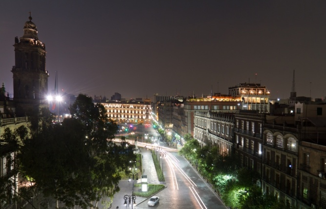 El Centro in Mexico City at night. Mexico City Guide | Skyscanner Canada