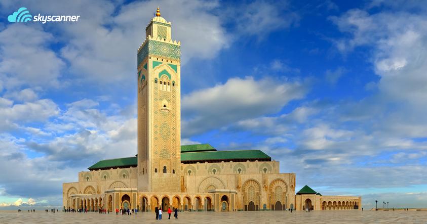 Το Tέμενος του Χασάν Β' στην Καζαμπλάνκα είναι απ' τα τοπ αξιοθέατα στο Μαρόκο